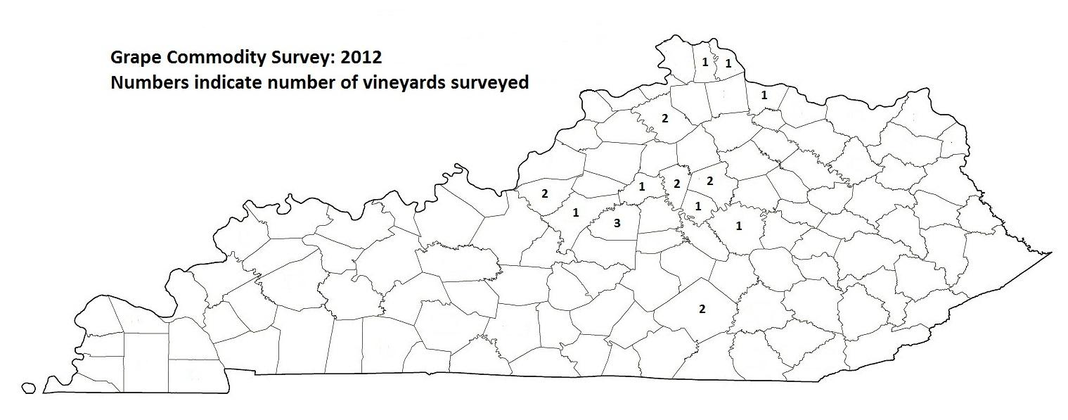 Grape Commodity Survey: 2012
