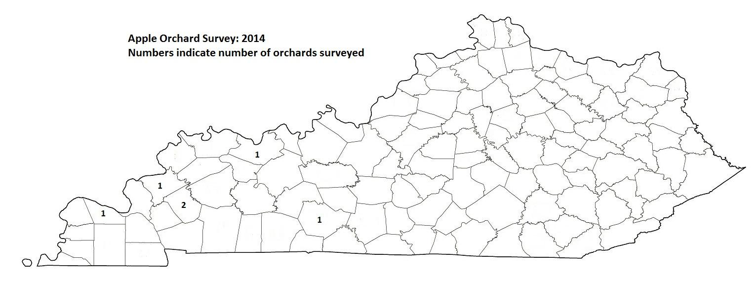 Apple Orchard Survey 2014